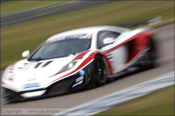 Zak Brown/Alvaro Parente United Autosports McLaren MP4-12C