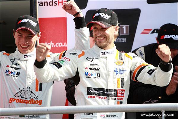 Rick Parfitt Jnr Optimum Motorsport Ginetta G50