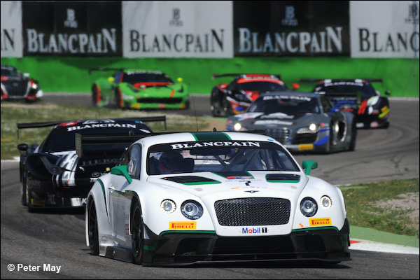 blancpain endurance series 2014 победа bentley