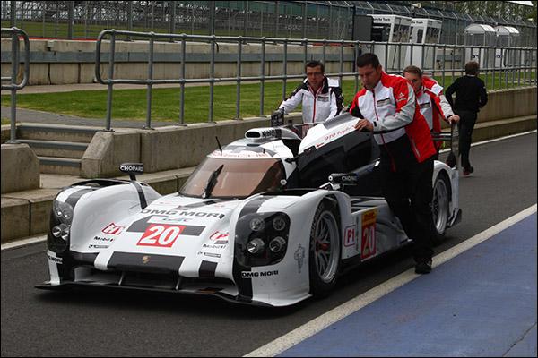 Porsche 20 Siverstone