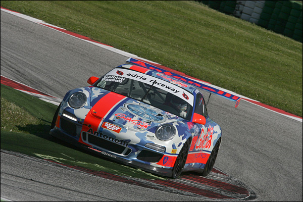 Galbiati-Rangoni ( Antonelli Motorsport, Porsche 997 GTCup #132)