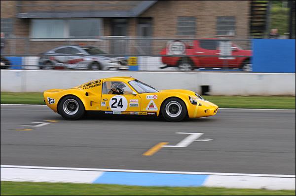Andy Newall Chevron B8 Bonnier class winner 7th
