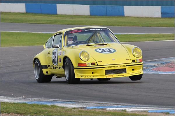 Mark Bates Porsche RSR Pescarolo class winner 15th