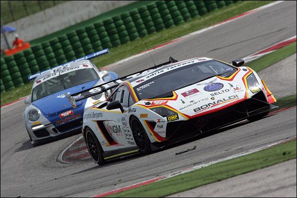 El Pato-Maldonado (Bonaldi Motorsport,Lamborghini Gallardo Cup #133)