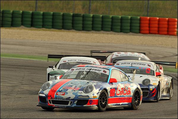 Galbiati-Passuti ( Antonelli Motorsport, Porsche 997 GTCup #132)