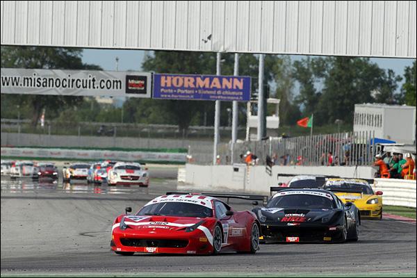 Pier Guidi-Lucchini (BMS Scuderia Italia,Ferrari 458 Italia-GT3 #77)