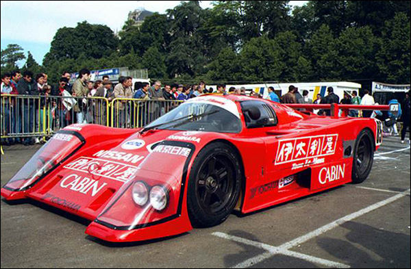 nissan at le mans the story so far part one the 1980s. Black Bedroom Furniture Sets. Home Design Ideas