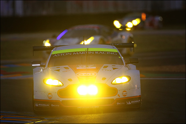 Aston Martin 97 LM Qualifying