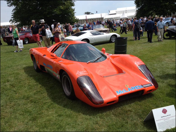goodwood festival of speed: notes from the paddock 2, mclaren
