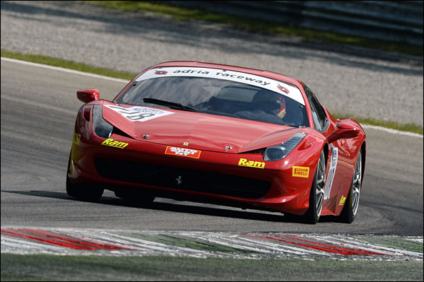 Goldstein-Mancinelli (Master Service,Ferrari 458 Cup-GTCup #116)