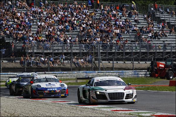 Capello-Zonzini (Audi Sport Italia, Audi R8 LMS-GT3 #5)