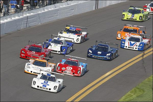 Start of the Daytona 24 hours