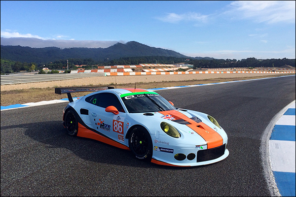 Gulf Racing Receive New Porsche 911 Rsr Dailysportscar Com