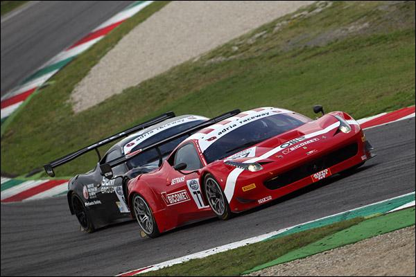 Lucchini- PierGuidi (BMS Scuderia Italia, Ferrari 458 GT3 #77)