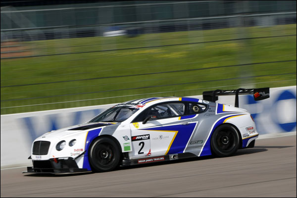 ... Bentley car, the first customer Bentley Continental GT3 chassis