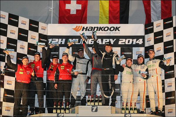 Overall-podium-Hankook-12H-HUNGARY-2014