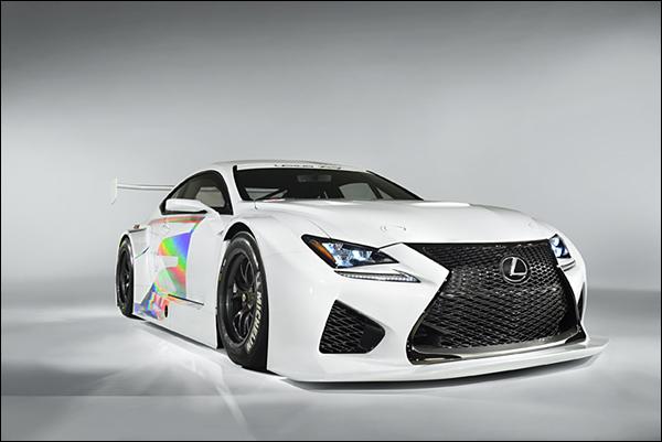 RC-F lexus GT3
