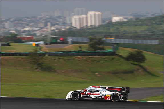 5th, #2, Marcel Fässler, André Lotterer, Benoit Tréluyer, Audi R18 e-tron quattro