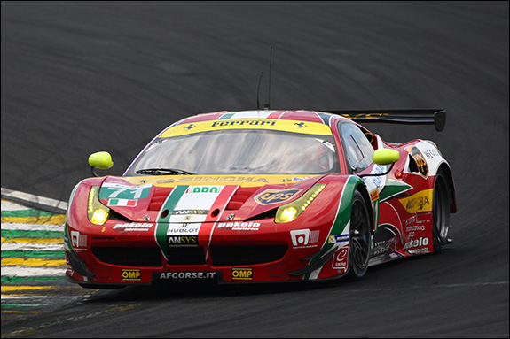9th, #71, Davide Rigon, James Calado, Ferrari 458 Italia