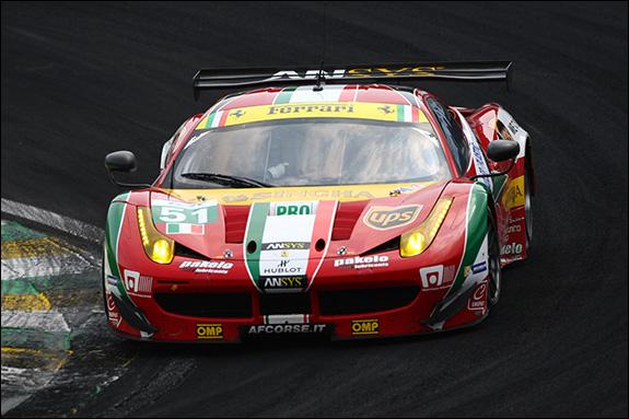 10th, #51, Gianmaria Bruni, Toni Vilander, Ferrari 458 Italia