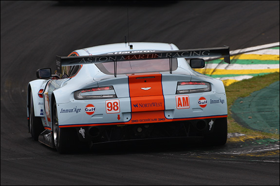 13th, #98, Paul Dalla Lana, Pedro Lamy, Christoffer Nygaard, Aston Martin Vantage V8
