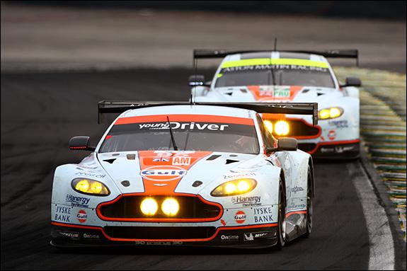 14th, #95, Kristian Poulsen, David Heinemeier Hansson, Nicki Thiim, Aston Martin Vantage V8