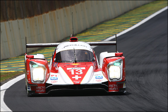 18th, #13, Dominik Kraihamer, Andrea Belicchi, Fabio Leimer, Rebellion R-One - Toyota
