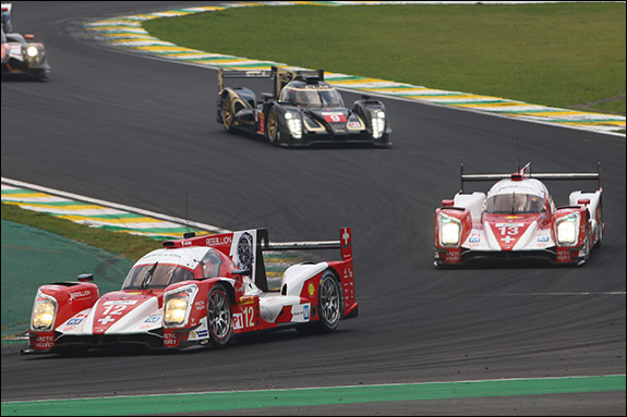 19th, #12, Nicolas Prost, Nick Heidfeld, Mathias Beche, Rebellion R-One - Toyota