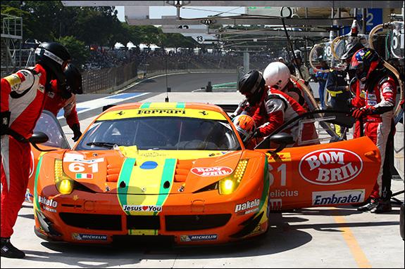 21st, #61, Emerson Fittipaldi, Alessandro Pier Guidi, Jeffrey Segal, Ferrari 458 Italia