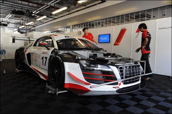 #17 Absolute Racing, Ho-Pin Tung, Sun Jing Zu, Jiang Wei, Audi R8 LMS GT3