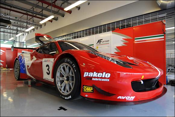 #3 AF Corse, Steve Wyatt, Michele Rugolo, Davide Rigon, Ferrari 458 GT3