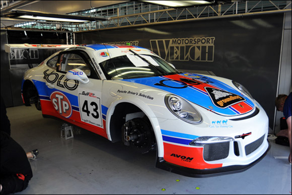 #43 STP Racing With Sopp + Sopp, Matthew Telling, Liam Venter, Ryan Ratcliffe, Daniel Welch, Porsche 991 GT3 Cup