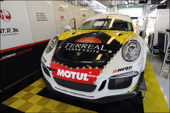 #50 Larbre Competition, Franck Labescat, Manuel Rodrigues, Christian Filippon, Denis Gibaud, Porsche 991 GT3 Cup