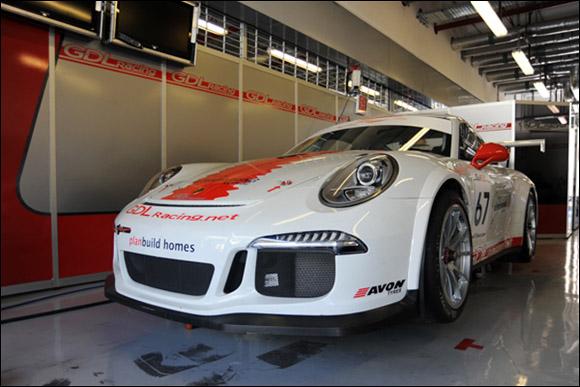 #67 GDL Racing, Nicolas Vandierendonck, Rob Thomson, Yusif Bassil, Porsche 991 GT3 Cup