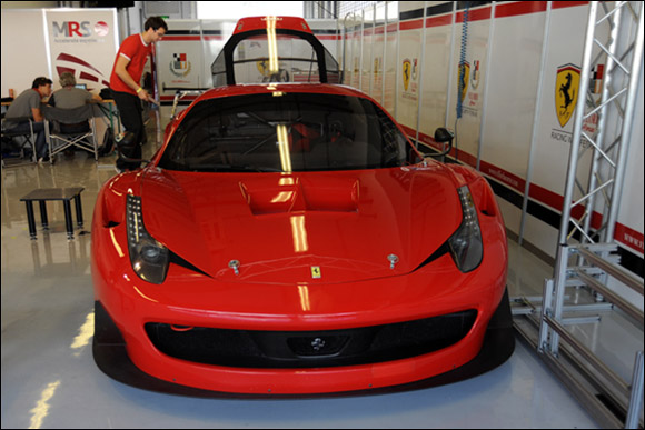 #89 Villobra Corse, Cedric Mezard, Christophe Hurni, Didier Cuche, Ferrari 458 GT3