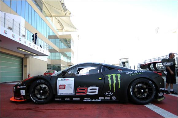 #99 Kessel Racing, Jorge Lorenzo, Liam Talbot, Marco Zanuttini, Ferrari 458 GT3