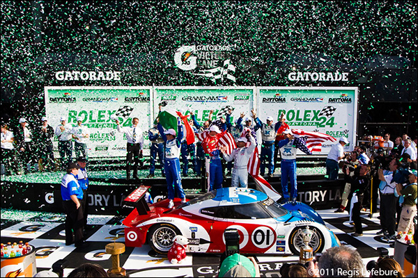Confetti For Winners Rojas, Rahal, Hand And Pruett