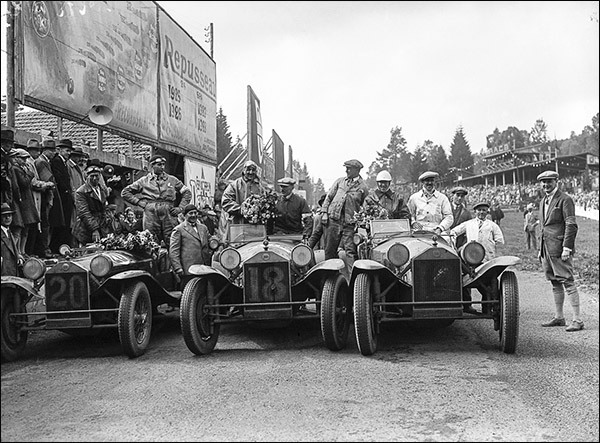Lancia wins the Coupe du Roi in 1929. (Chpt 4)