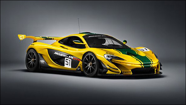 Geneva Debutants Mclaren S P1 Gtr Back To The Future