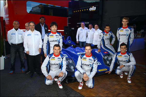 MOTORSPORT : UNVEIL OF TEAM SARD MORAND (CHE-JPN) LE CASTELLET (FRA) 3/26/2015