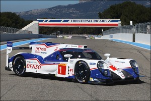 Toyota TS040 Launch In Pictures
