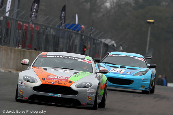 Jade Edwards / Chloe Edwards Stratton Aston Martin GT4 Challenge