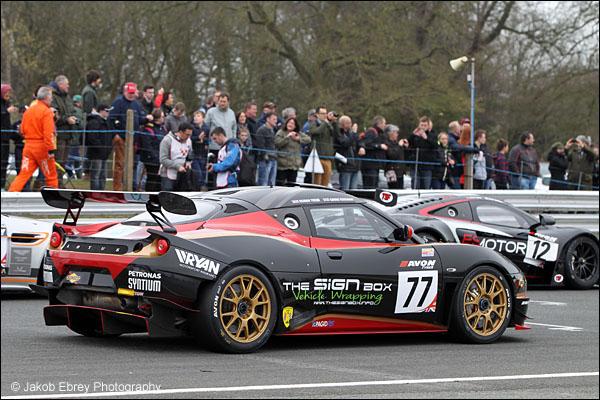 Oz Yusuf / Gavan Kershaw ISSY Racing Lotus Evora GT4