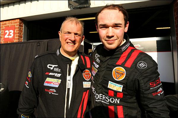 David Pattison / Luke Davenport Tolman Motorsport G55 Ginetta GT4
