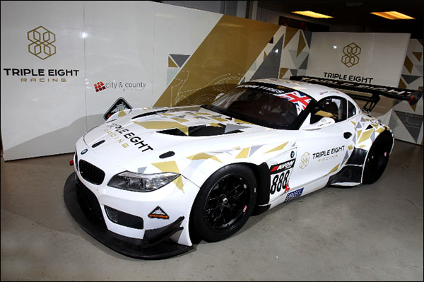 New Triple Eight Livery Launched Dailysportscar Com