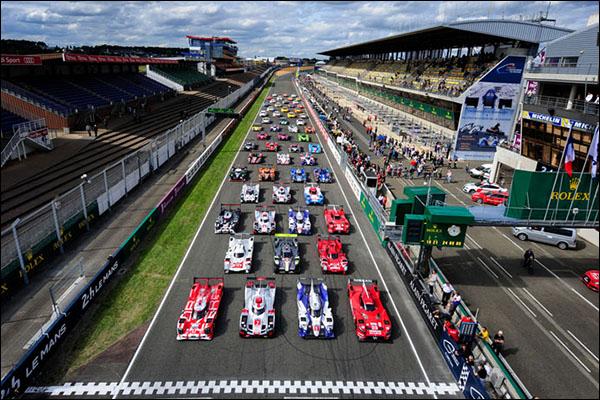 The 2015 Le Mans 24 Hours Grid Dailysportscar Com