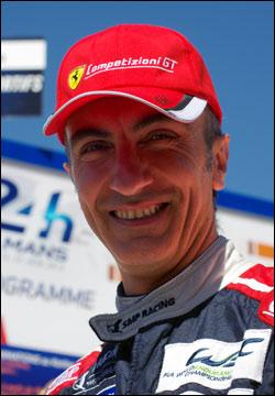 Andrea Bertolini, #72 SMP Racing Ferrari 458 Italia