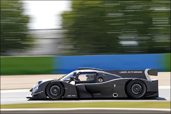 Ligier-JSP3-testing