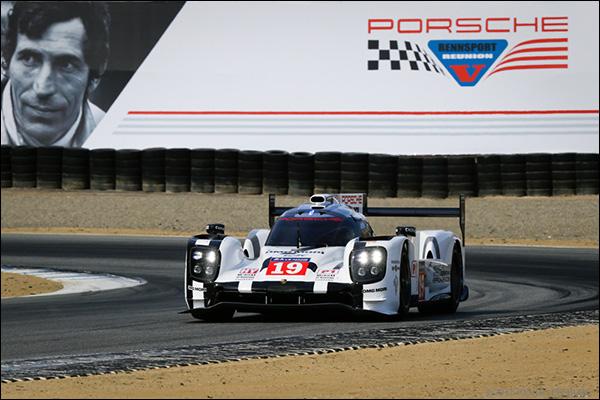 PORSCHE OFFICIAL RENNSPORT REUNION V RACECAR EVENT POSTER 356 SL 917 /& 919 2015