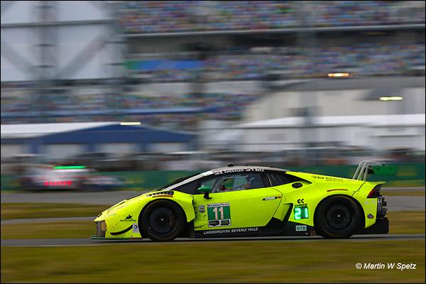 11 Lamborghini Huracan Rolex 24 Race 2